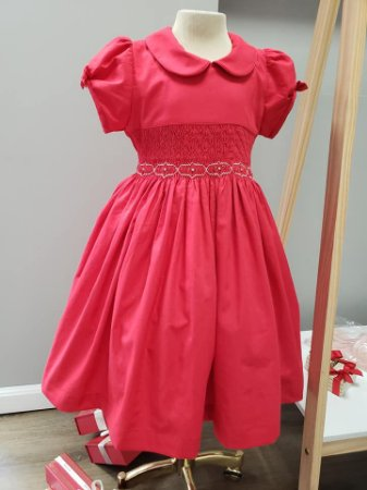 Vestido Bordado Red Bebe