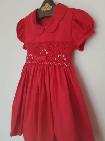 Vestido bordado channel Infantil