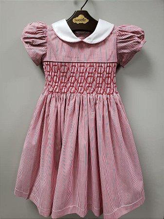 Vestido Casinha de abelha Carolina bebe