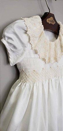 Vestido Luxury renda Infantil 400 fios