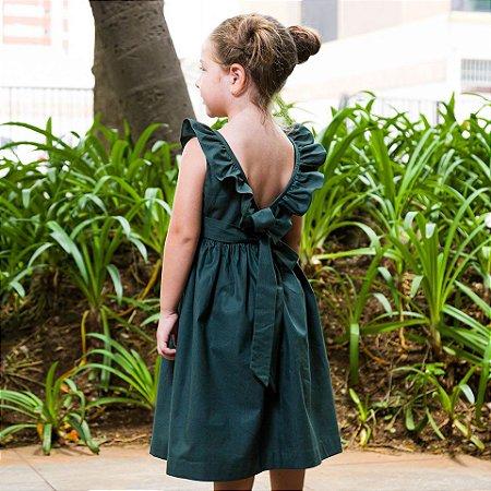 Vestido babado Juliana