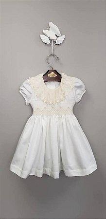 Vestido Luxury Renda 400 fios infantil