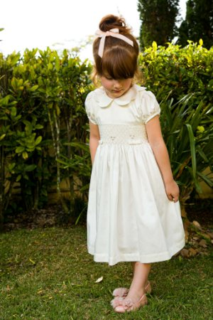 Vestido bordado Carolina 400 fios
