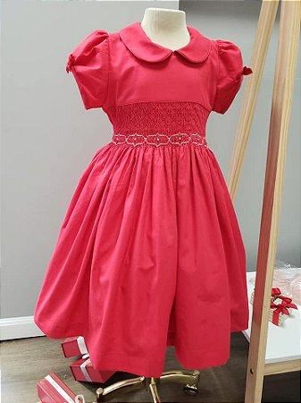 Vestido bordado Red
