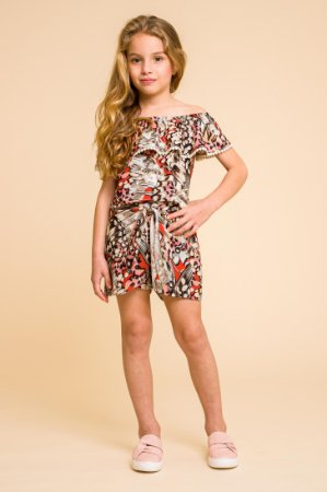 Blusinha babado butterfly