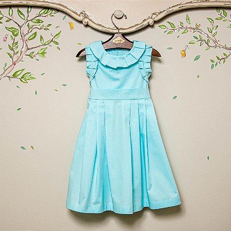 Vestido Infantil Roma Blue