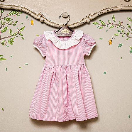 Vestido Infantil Rosa Sorrento
