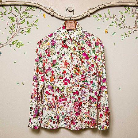 Camisa Mãe Floral Siena Sweetie
