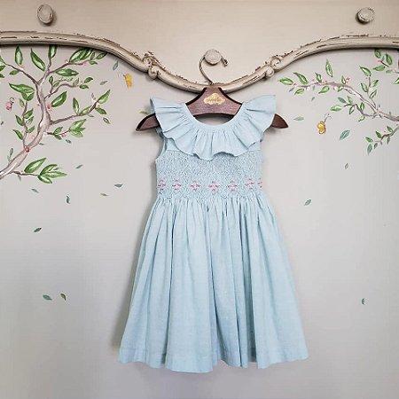 Vestido bordado amalfi