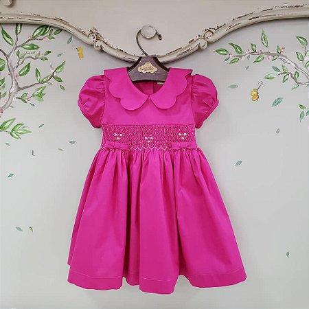 Vestido Bordado Pink