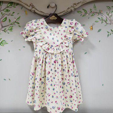 Vestido bebe Rosa florença