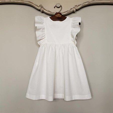 Vestido Infantil Capri Off White