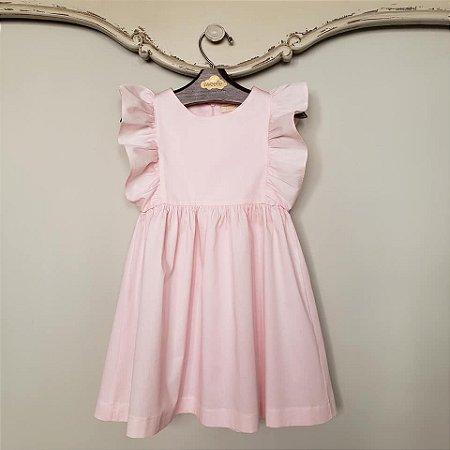 Vestido Bebê Capri Rosa