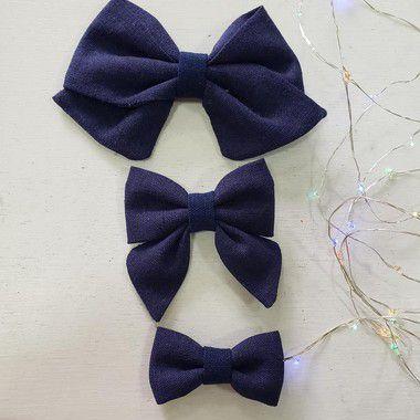 Laço Azul Marinho