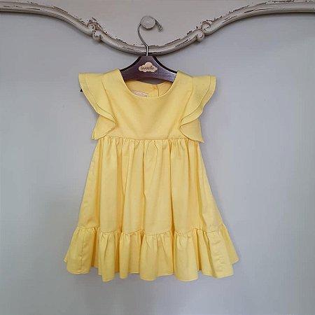 Vestido Infantil Turin Amarelo