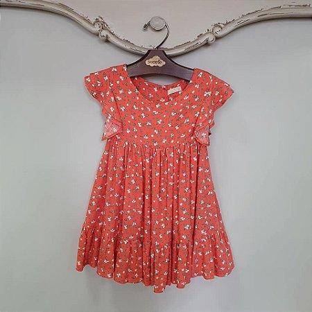 Vestido Bebê Turin Primavera Coral