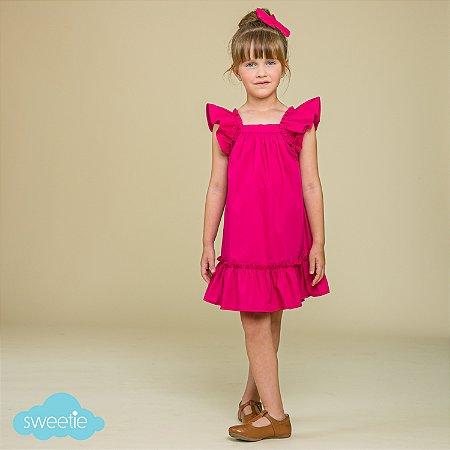 Vestido Infantil Bolonha Pink
