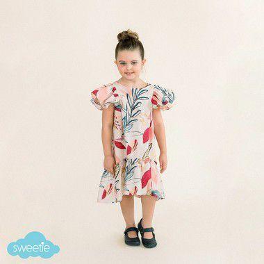 Vestido Infantil Camélia Amor Maior DEF