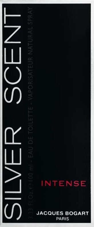 Perfume Silver Scent 100ml Jacques Bogart Intense