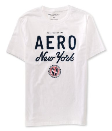 Camisa Aeropostale Aero New York Logo Graphic Tee G