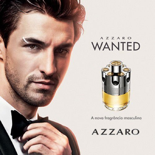 Perfume Azzaro Wanted Masculino Eau De Toilette 100ml