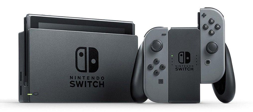 Console Nintendo Switch 32Gb - Cinza