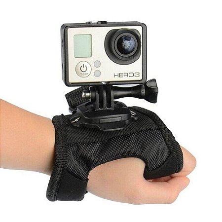 Suporte Luva Alça 360° Mão Pulso GoPro