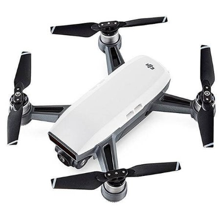 Drone Dji Spark Full HD de 12MP + Combo Fly More - Branco
