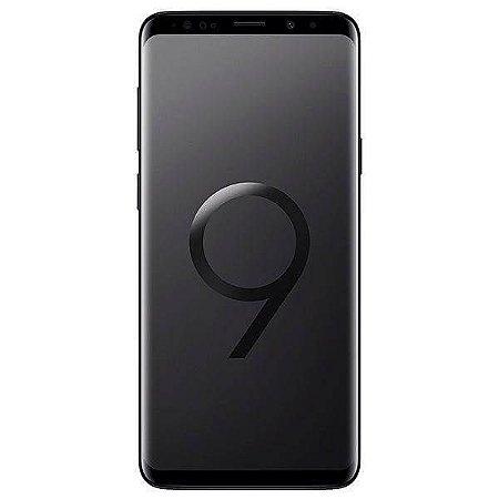 """Smartphone Samsung Galaxy S9+ 64GB de 6.2"""" 12+12MP/8MP OS 8.0 - Preto"""