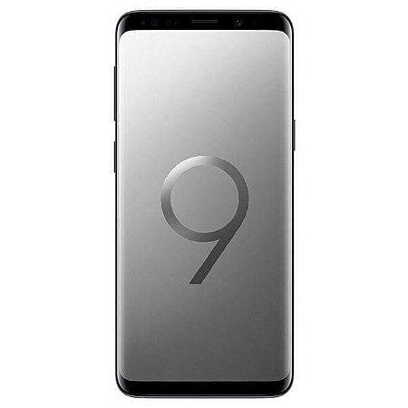 """Smartphone Samsung Galaxy S9+ 64GB de 6.2"""" 12+12MP/8MP OS 8.0 - Cinza"""