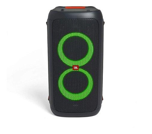 Caixa de Som JBL Party Box 100 Bluetooth com Entrada USB Microfone Violão Guitarra