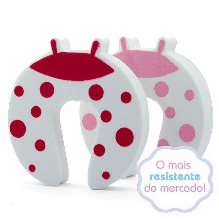 Salva Dedos Protetor de Portas - Joaninha - Trava Portas - 2 peças
