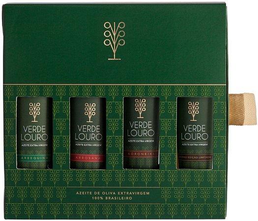 Kit Verde Louro com 4 mini garrafas de 50ml