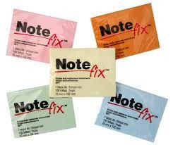 Bloco auto adesivo Note Fix
