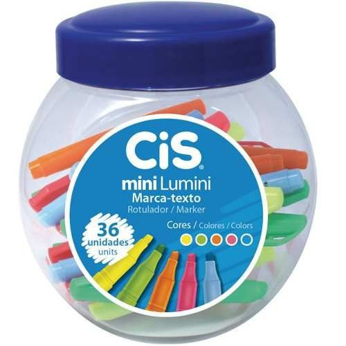 Kit marca textos CIS mini lumini 5 cores