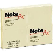 Bloco auto adesivo Note Fix 38 x 50mm
