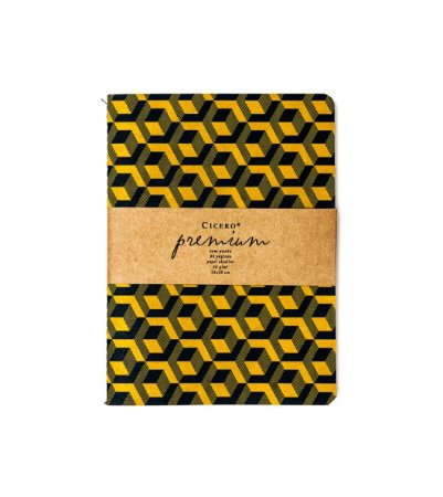 Caderneta Revista Cicero Premium Cubo