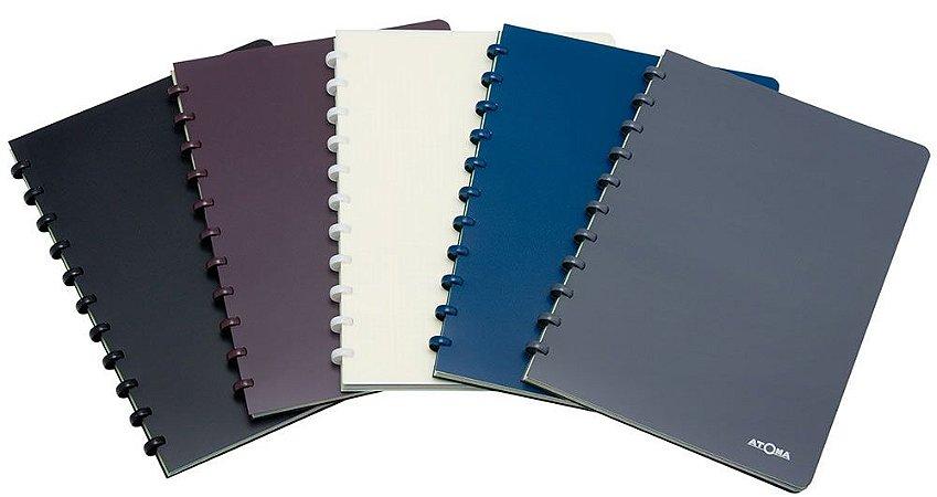 Caderno Atoma PolyPro Pautado