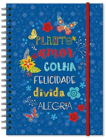 Caderno Universitario Fina Ideia Plante Amor 100fls