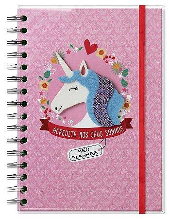 Planner Permanente Fina Ideia Unicornio