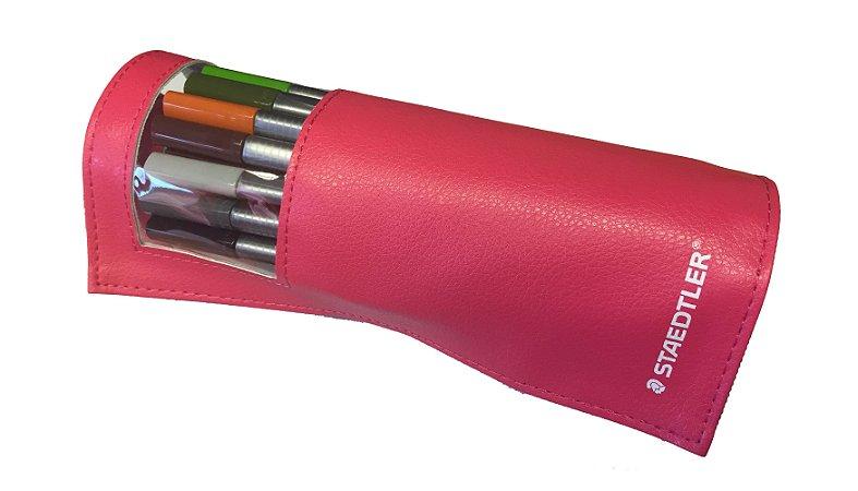 Estojo Flexível Staedtler Triplus Fineliner 20 cores
