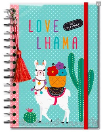 Planner Permanente Fina Ideia Lhama