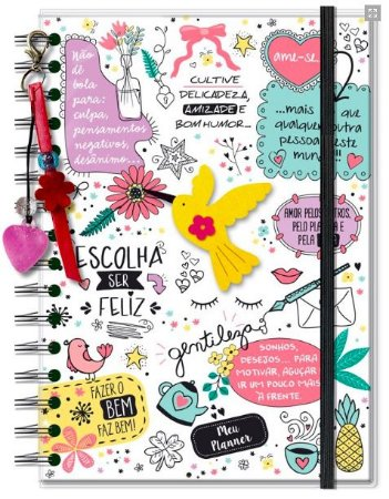 Planner Permanente Fina Ideia Beija Flor