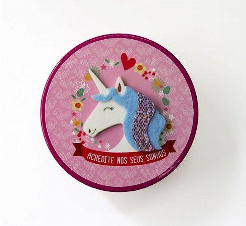 Bloco Na Lata Fina Ideia Unicornio
