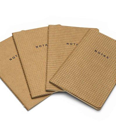 Caderneta Revista Cicero Notas Mix Kraft