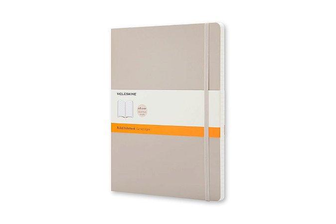 Caderno Moleskine Classico Pautado Capa Flexivel