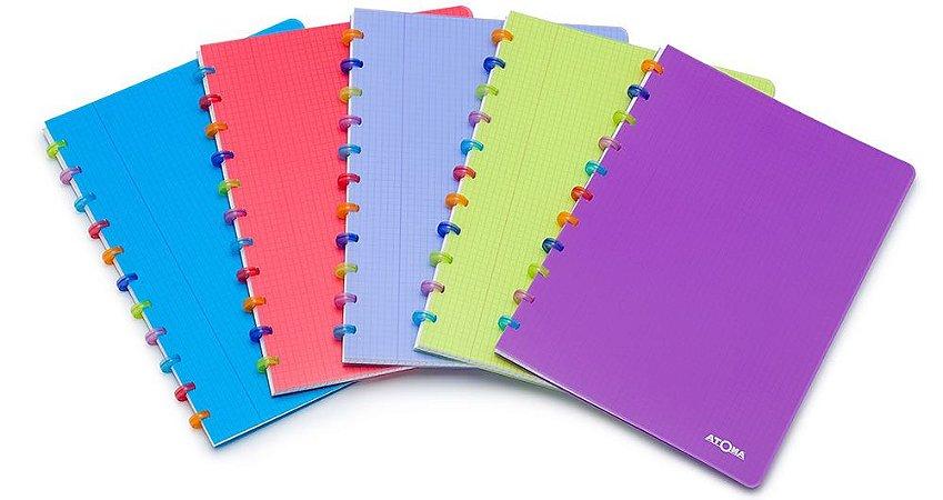 Caderno Atoma Tutti Frutti Pautado