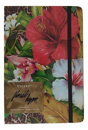 Caderneta Cicero Floral Hype Thomaz Azulay