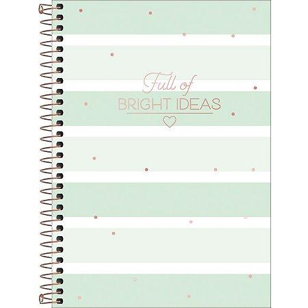 Caderno Tilibra Soho Colegial 10 Materias Bright Ideas Listras