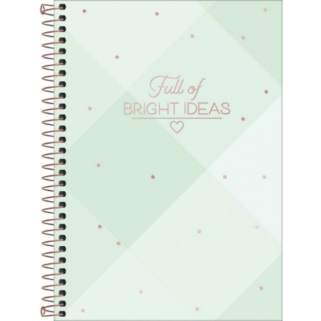 Caderno Tilibra Soho Colegial 10 Materias Bright Ideas Xadrez